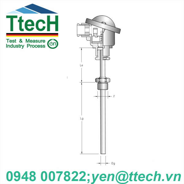 CAN NHIỆT  PT (RTG-TERMOTECH)