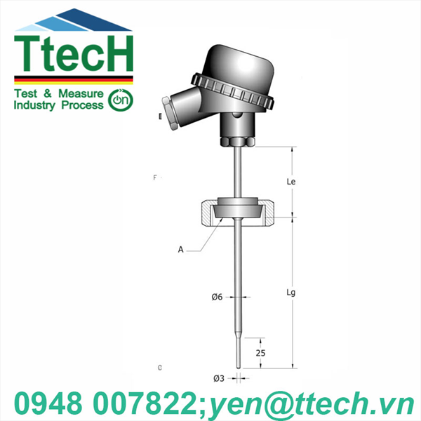 CAN NHIỆT PT (RTA -TERMOTECH)