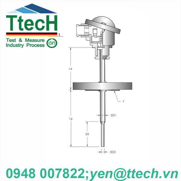 CAN NHIỆT  Pt (RRF-TERMOTECH)