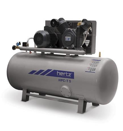Double Stage & High Pressure Piston Compressors