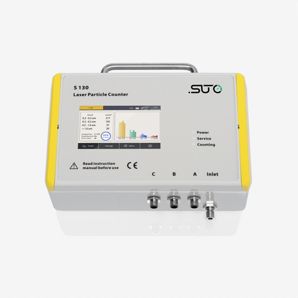 S 130 LASER PARTICLE COUNTER