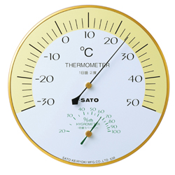 Thermometer with Hygrometer; Harmony (SATO)